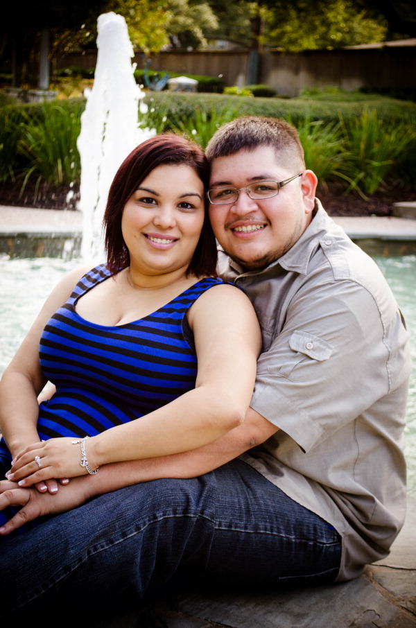 Vanessa Salazar and Guadalupe Fuentes Jr.