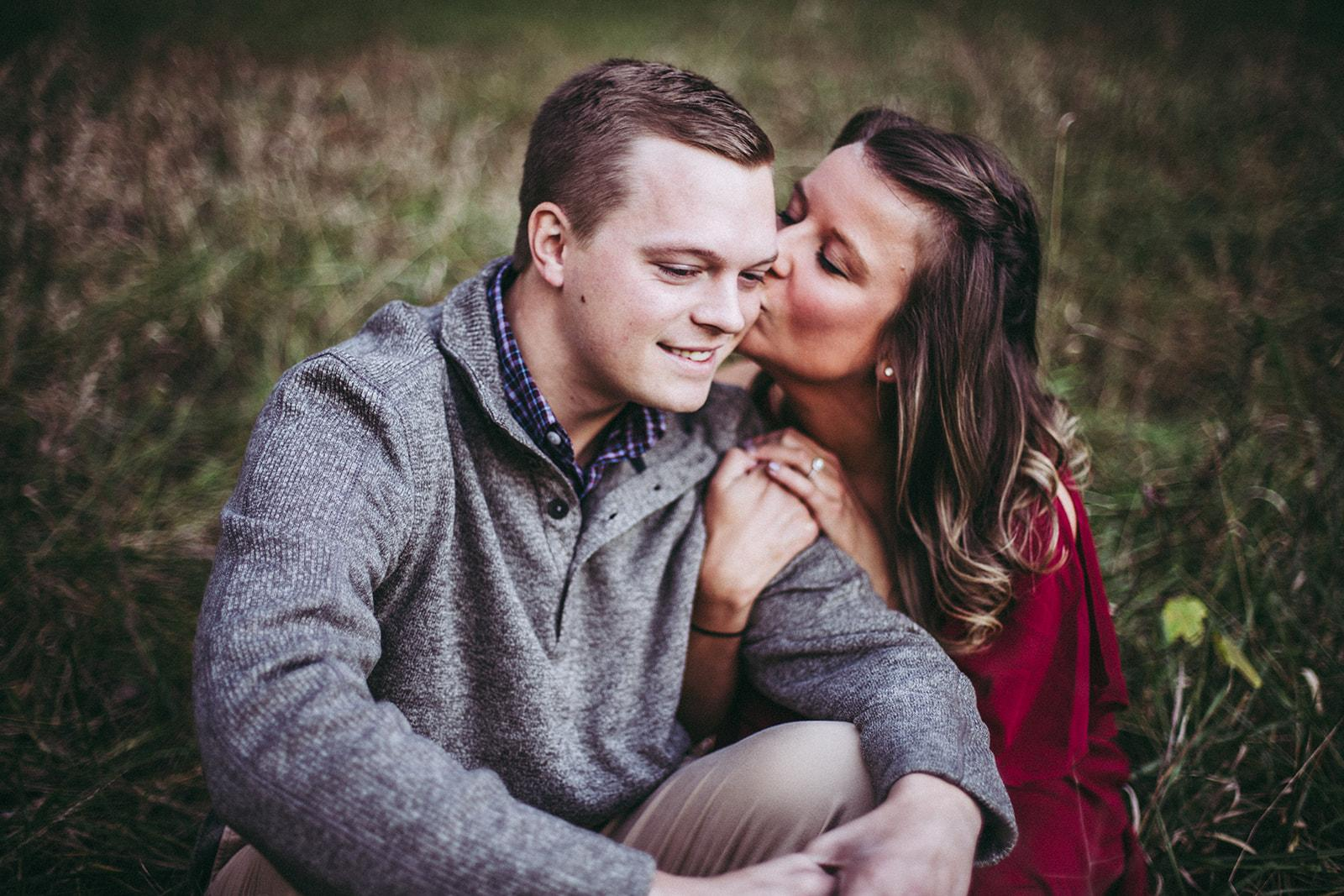 Kayla Johnson and Tyler Singleton